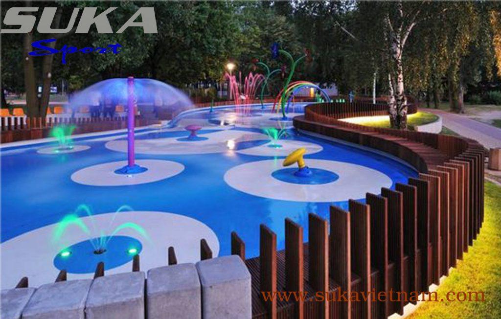 Thảm cao su epdm cho sân chơi nước – SuKa EP 125