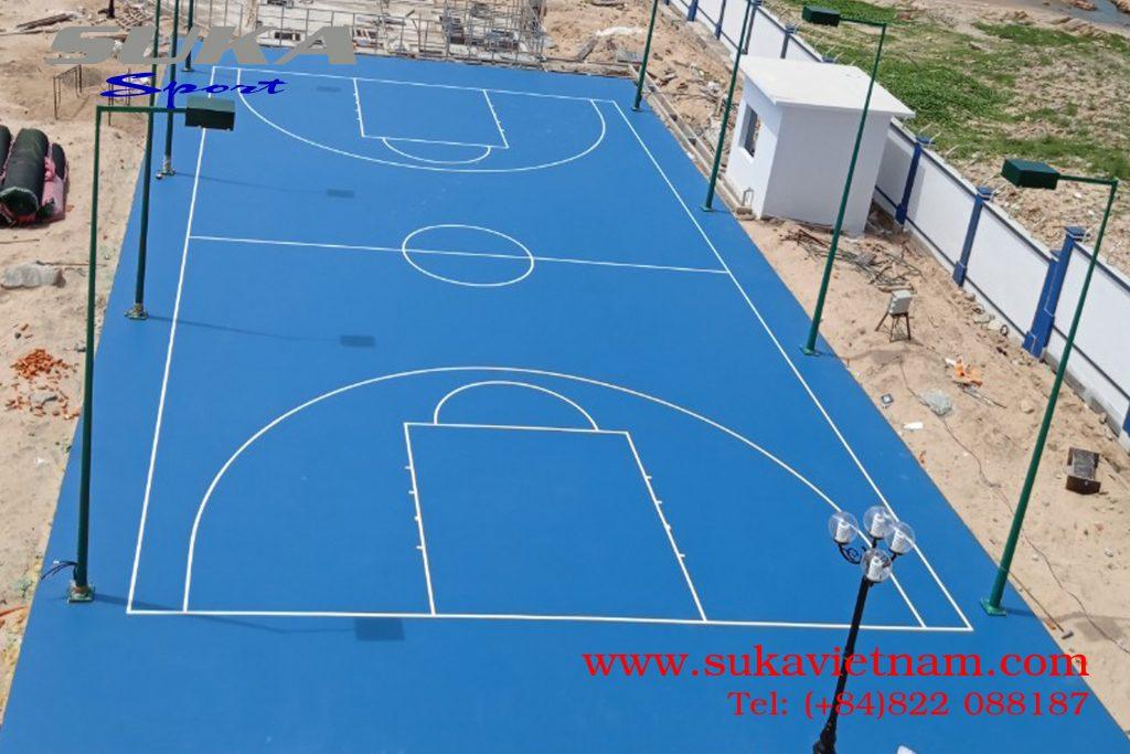 cung cấp thảm silicon pu sân bóng rổ